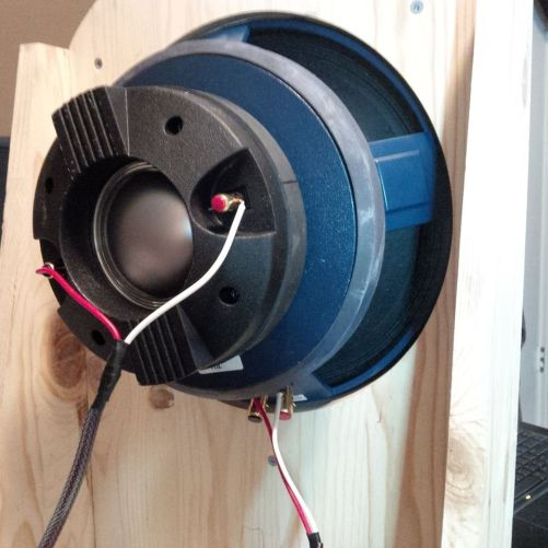 "12"" P-Audio Coaxial back end"